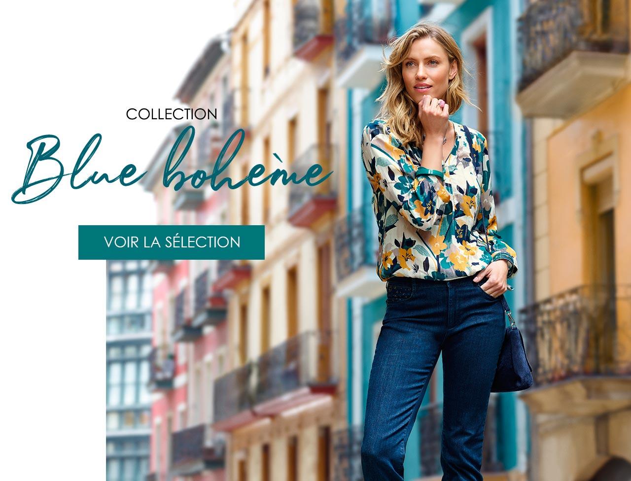 Collection blue bohème