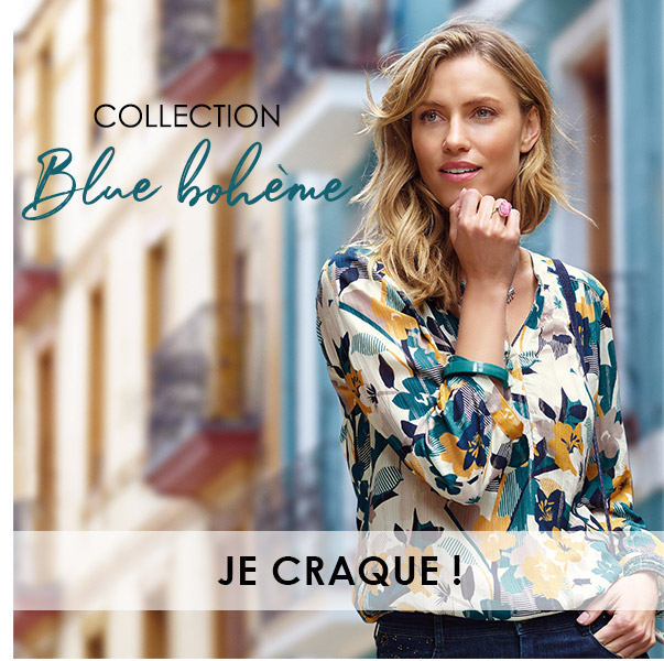 Collection blue bohème