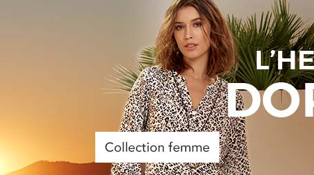 Collection heure dore femme