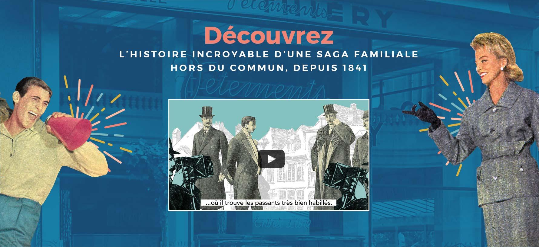 L'histoire incroyable d'une saga familiales hors du commun, depuis 1841