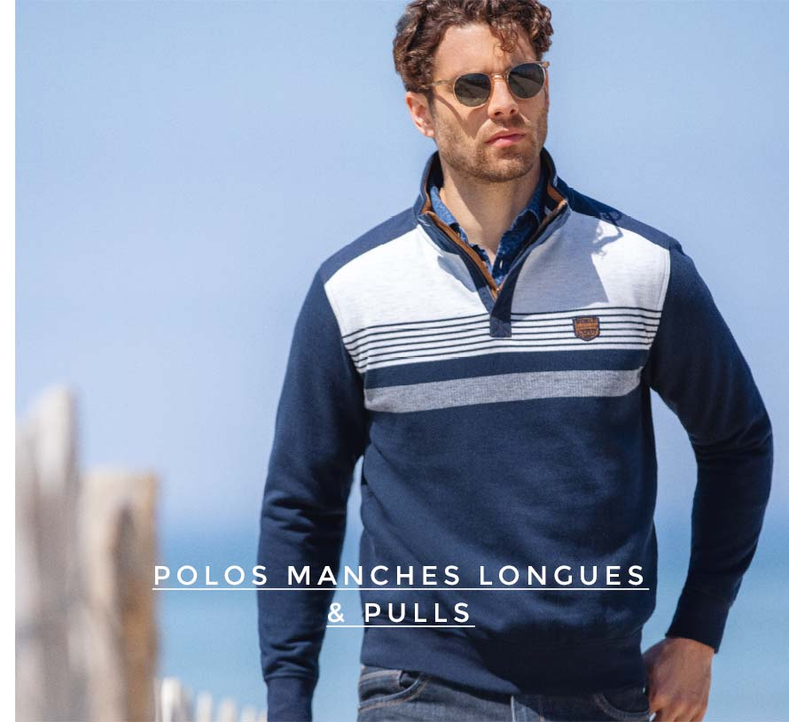 Polos manche longues & pulls